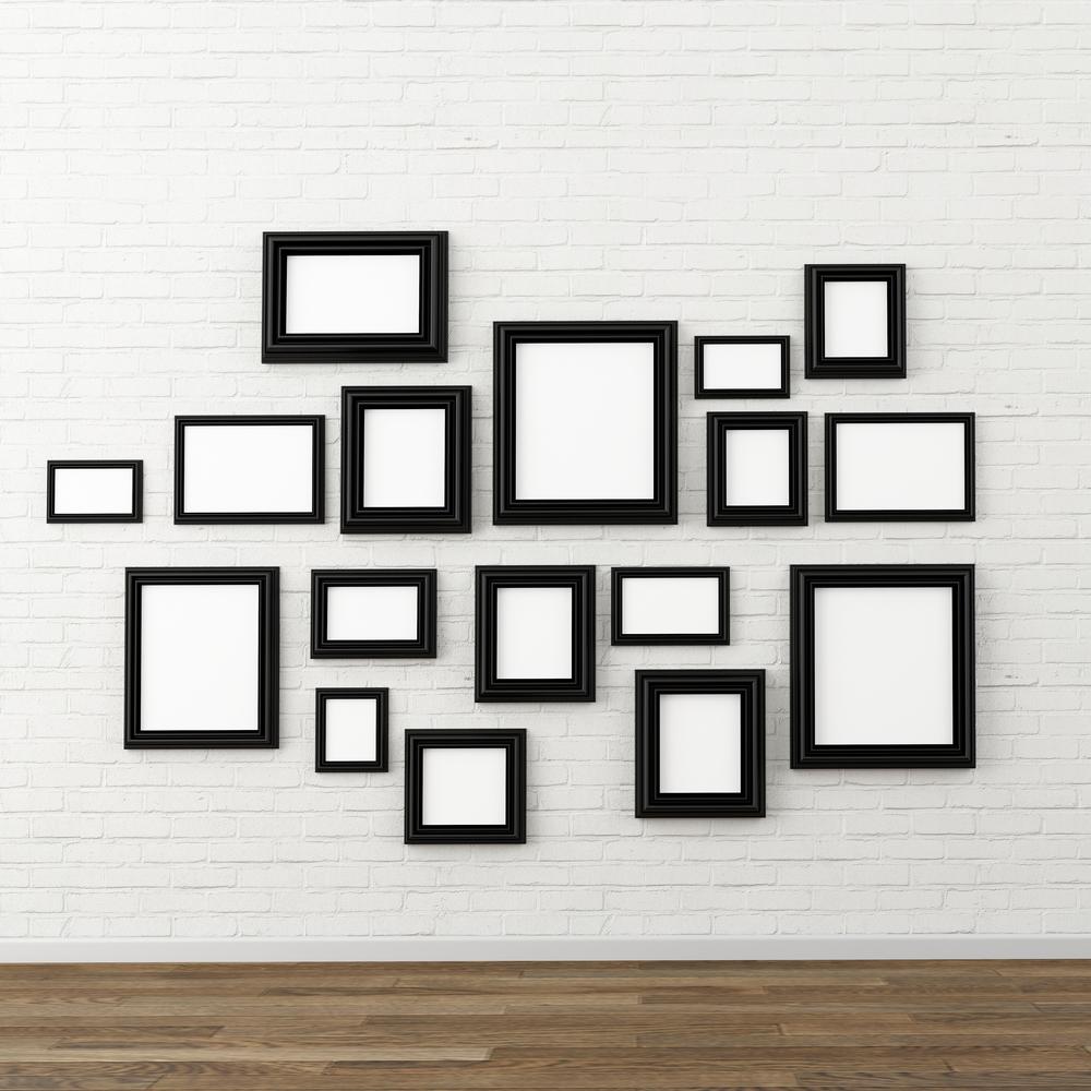 Black-frames-on-wall