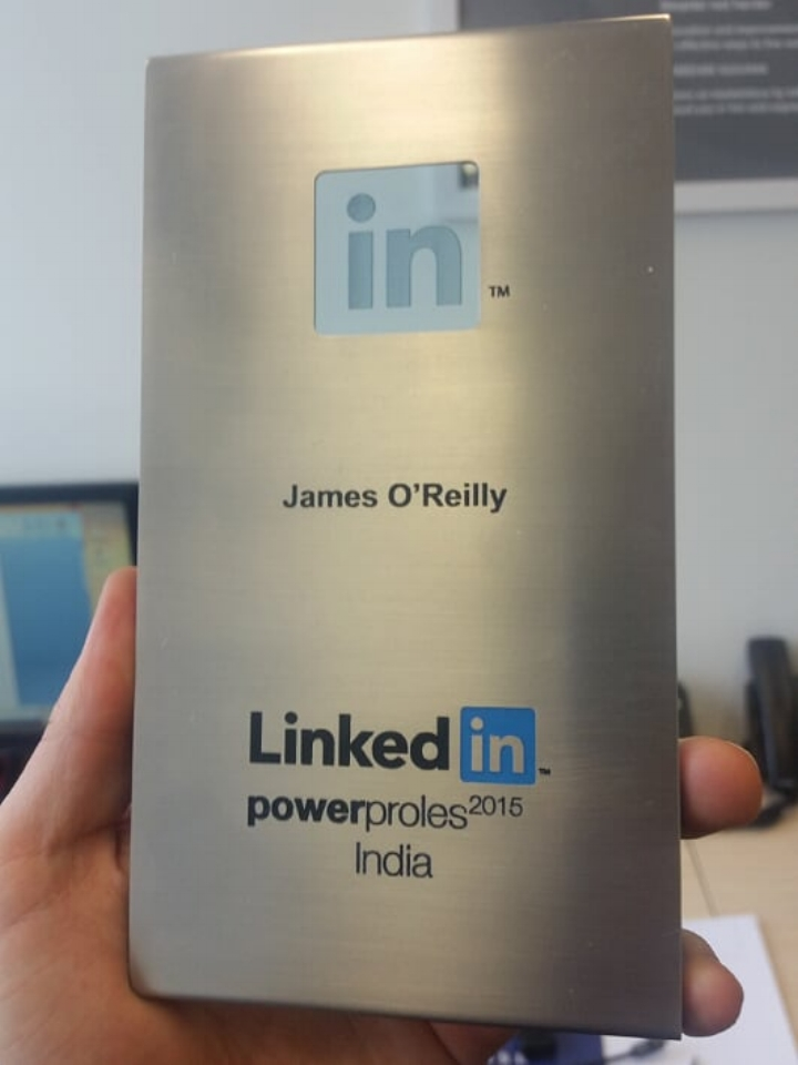James is big in India #uhoh #checkthespelling #checkthecountry