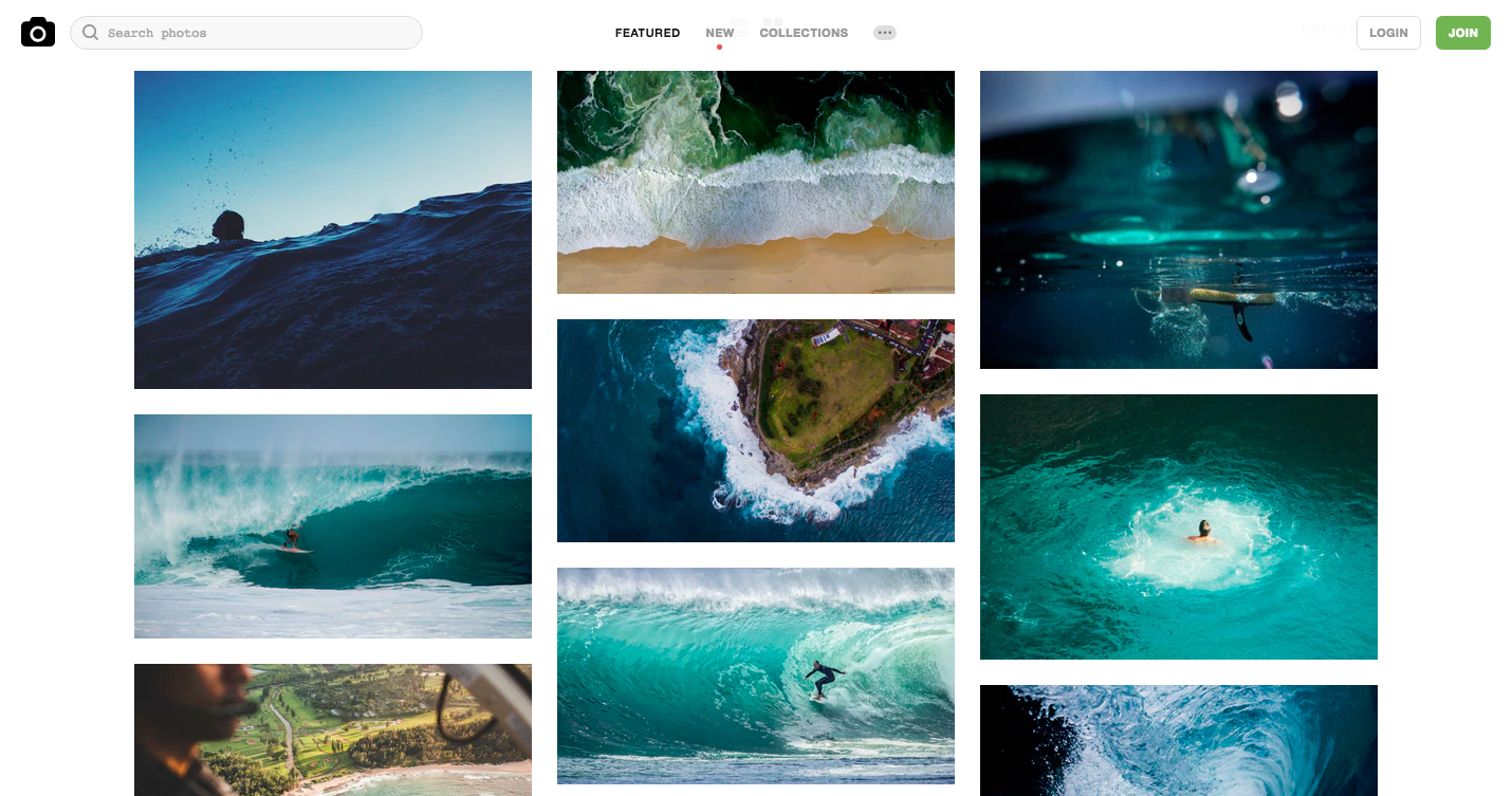 Unsplash - home page.png