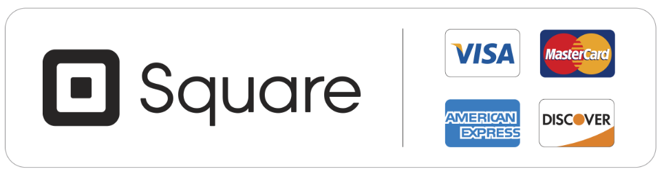 All transactions are fully secured through Square with Squarespace Commerce.