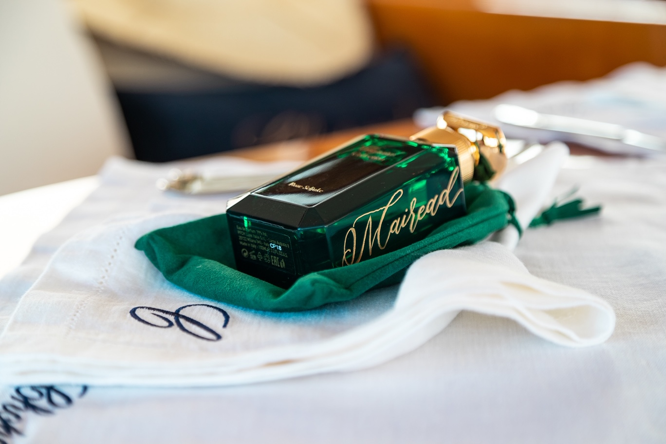 Calligraphy engraving for Chopard
