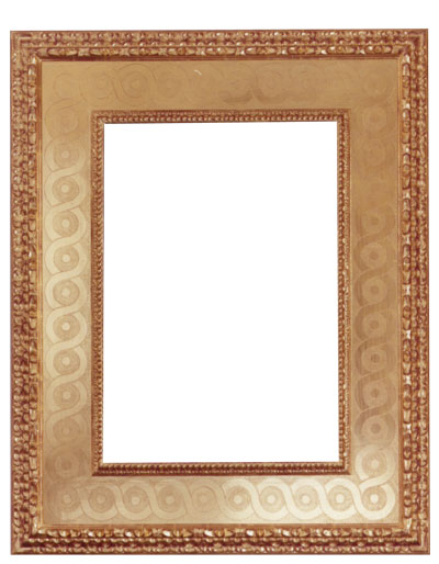 carved & punched mirror 50x40