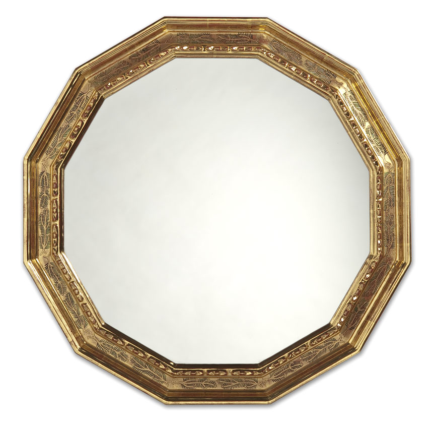 12-sided fir mirror 27x27
