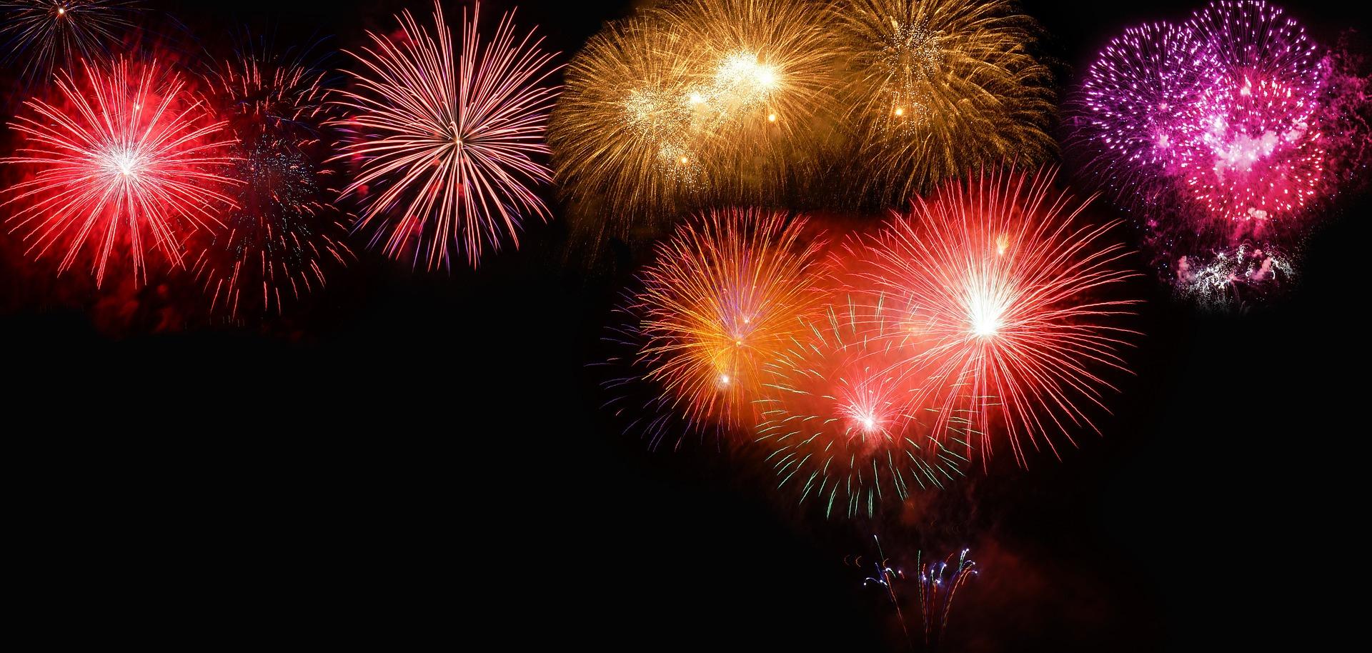 Fireworks Sherwood Park Canada Day 2019