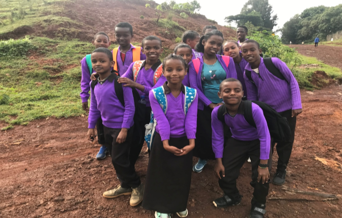 - This past month the kids have all started school and are doing great!They were all given the supplies they need and new school uniforms to start the year off strong. The kids are also enjoying their new backpacks given by the mission team from Texas.