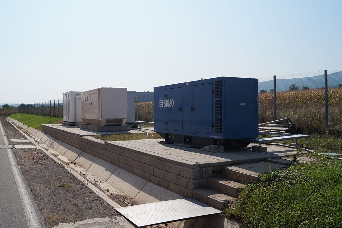Electricity   Own electrical substations & emergency backup power generator.