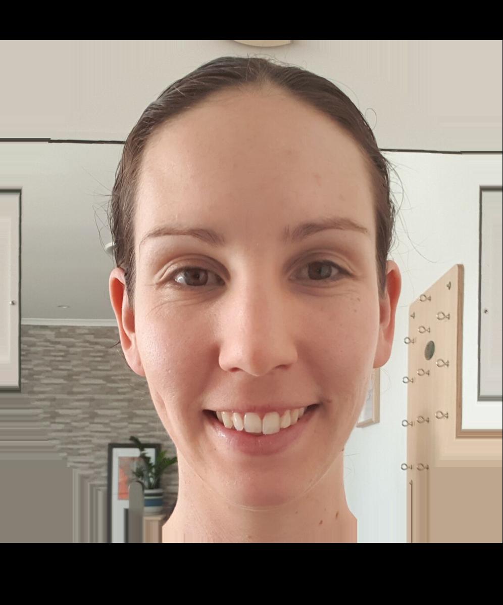 Physiotherapist and Pilates instructor Rachel Morgan-Varlow