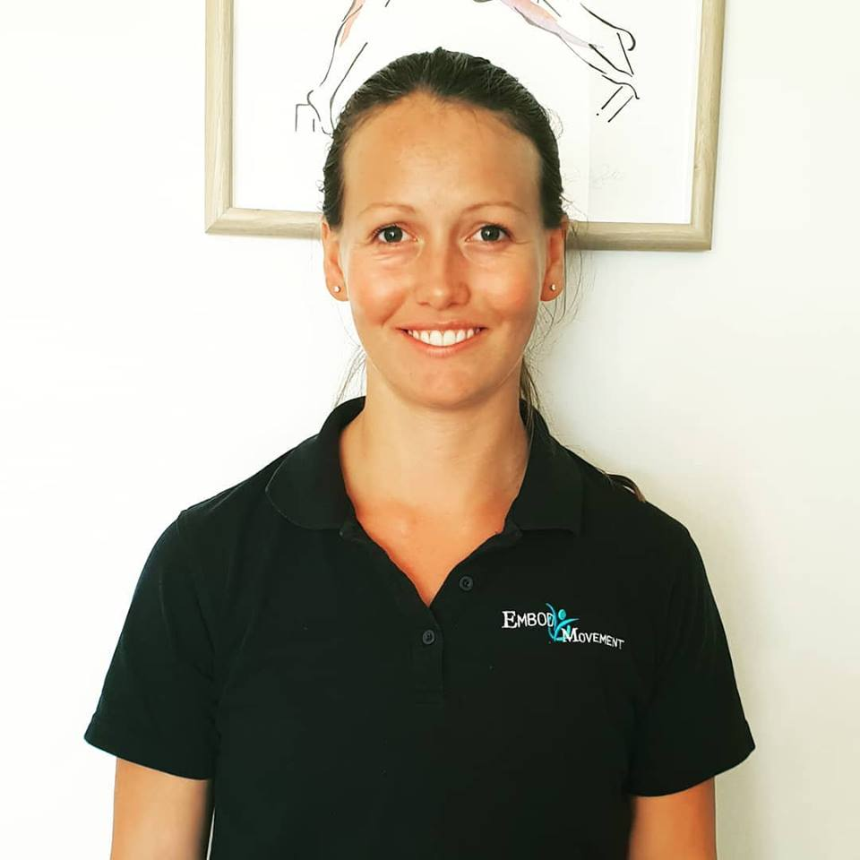 Physiotherapist and Pilates Instructor Brittany Cooke