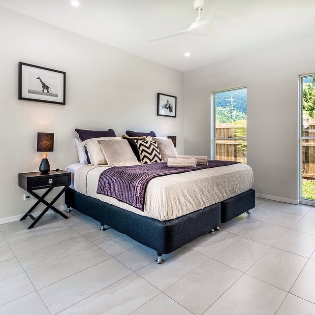 """Villa on Vievers"" Master Bedroom ⠀⠀"