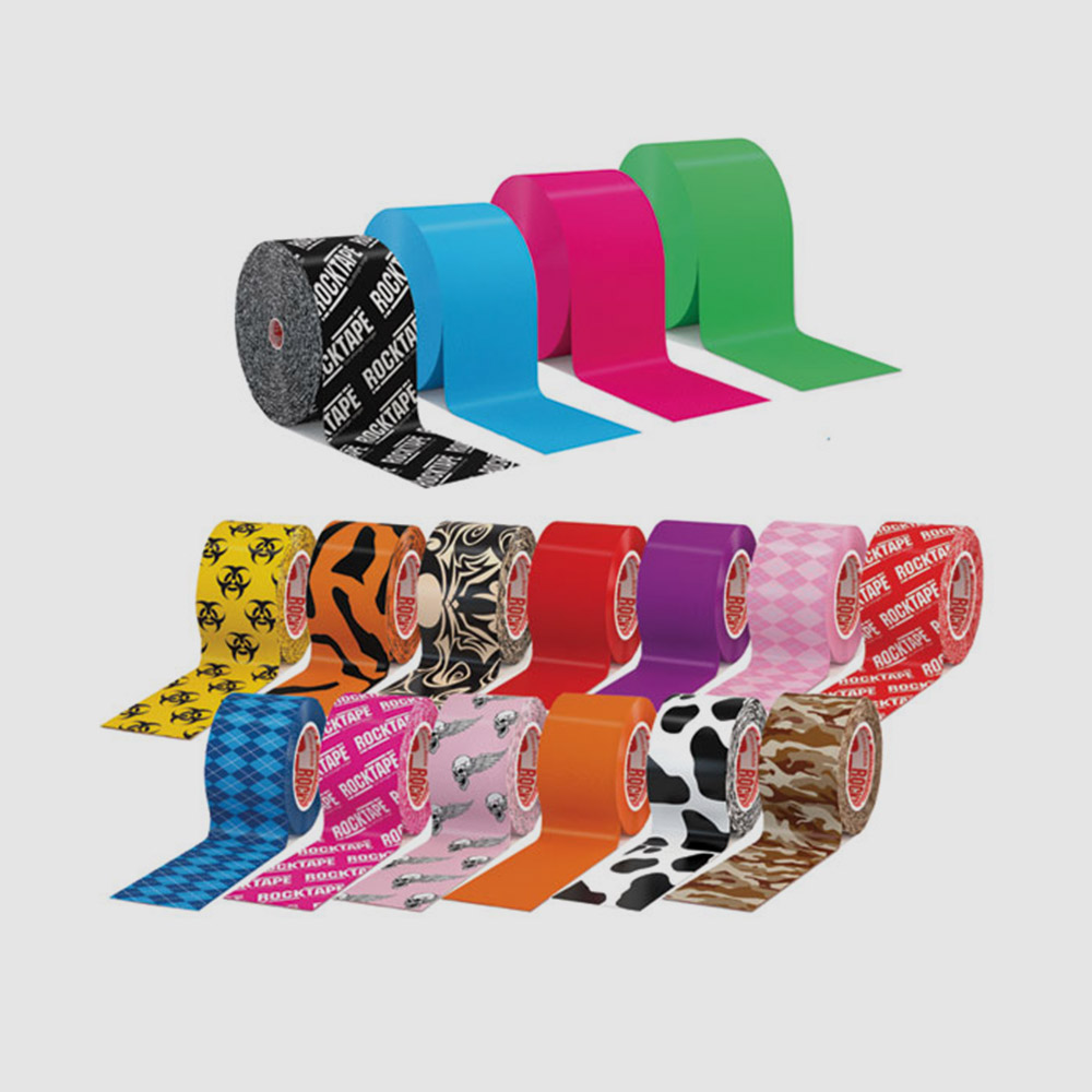 Rock Tape    Rock Tape is fast becoming the physios choice in the taping world and now we stock a range in store. Also have a wide range available to order in. Rolls starting at $17 R & R has you covered