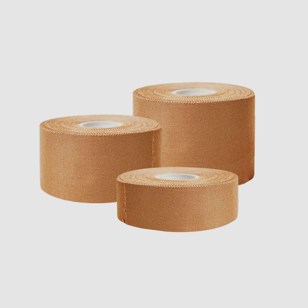 Strapping Tape, Bandages    Rest & Recovery Centre has you or your team covered in your taping gear. We supply all the leading brands and with rolls of tape starting at $4 a roll. R & R has you covered