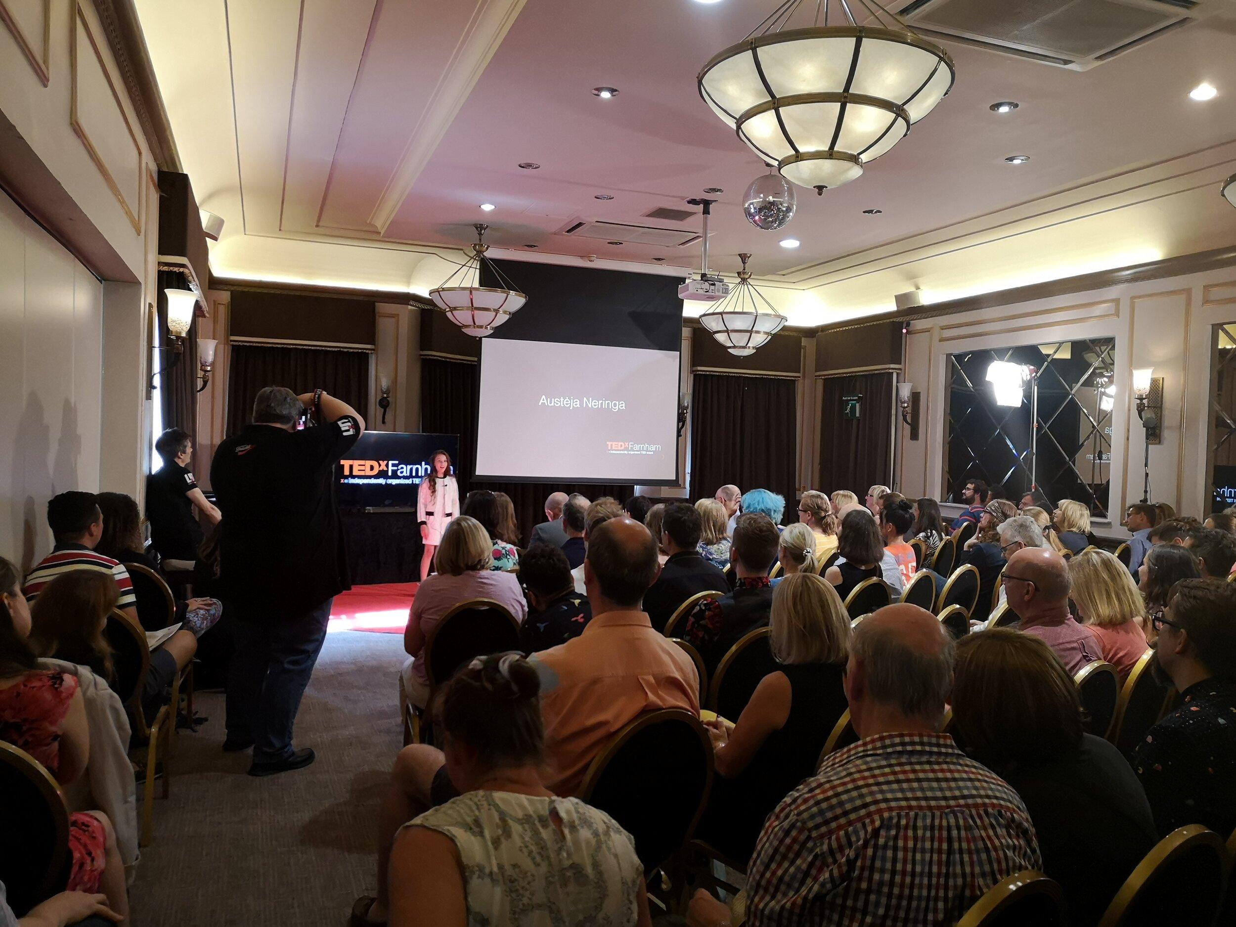 TEDx Farnham Speaker