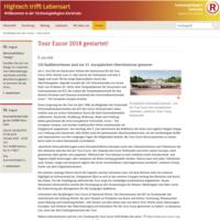 Tour Eucor gestartet! - Technologieregion Karlsruhe, 05.06.2018