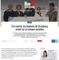 la rentrée, les étudiants de Strasbourg seront sur un campus européen - Rue89 Strasbourg, 26.07.2016