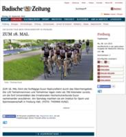 Zum 18. Mal - Badische Zeitung, 08.06.2015