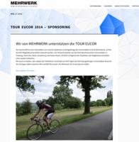 MEHRWERK SPONSERT TRIKOTS FÜR DIE TOUREUCOR 2015 - Pressnetwork, 29.05.2015