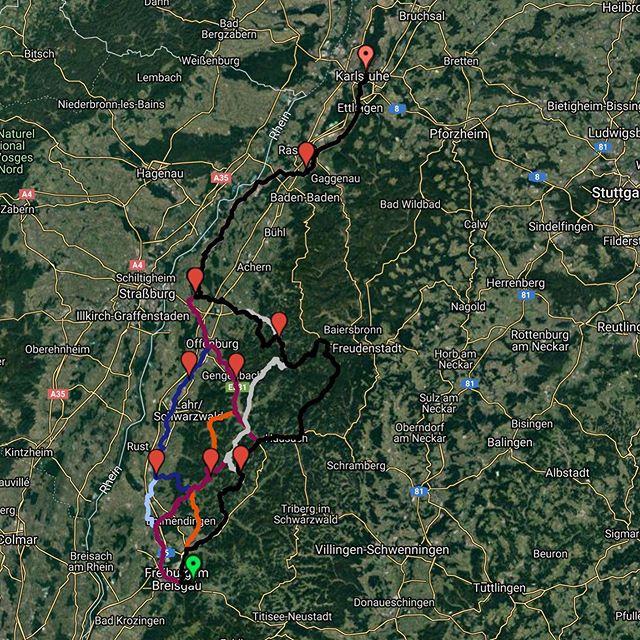 Am fünften und damit letzten Tag der Tour Eucor 2019 geht es auf den langen Weg von Freiburg bis nach Karlsruhe. Zwischen 165km und 225km warten damit heute auf die sechs Gruppen! || Le cinquième et dernier jour du tour Eucor 2019, le long voyage de Fribourg à Karlsruhe commencera. Entre 165km et 225km attendent les six groupes aujourd'hui ! #toureucor #toureucor19 #tag5 #frka