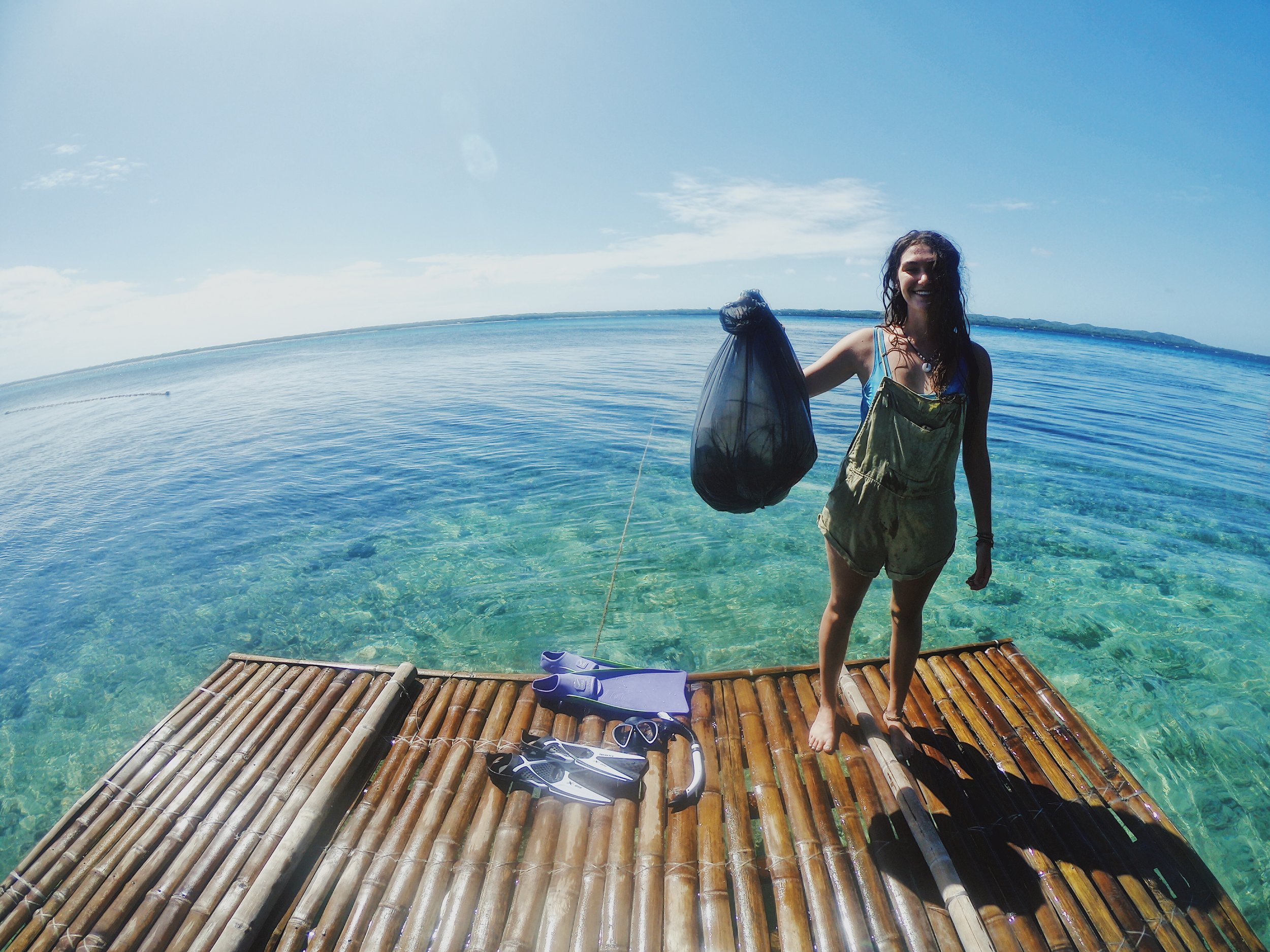 More rubbish collected off the reef