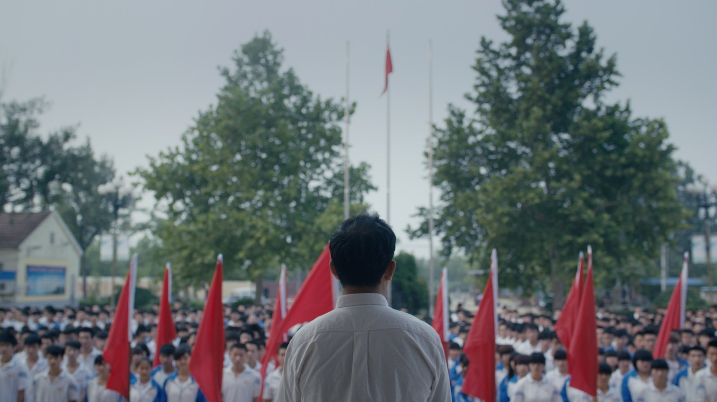 Still from  A Test (2016 ), produced by Yifei He.