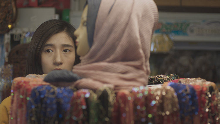 Still from   A Farewell  , a short film written and directed by Yifei He.