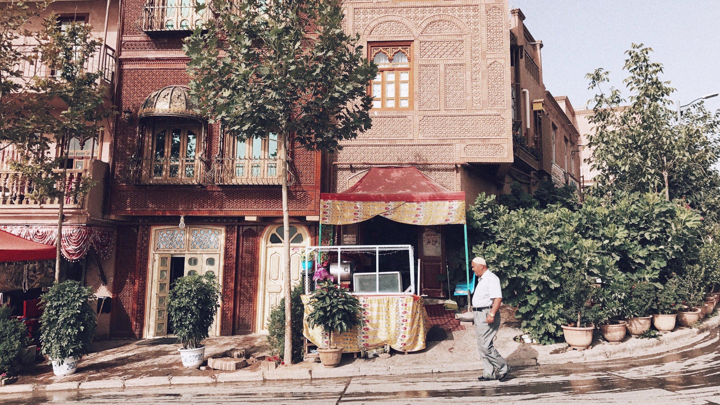 ( Photography ) Kashgar, 2017.