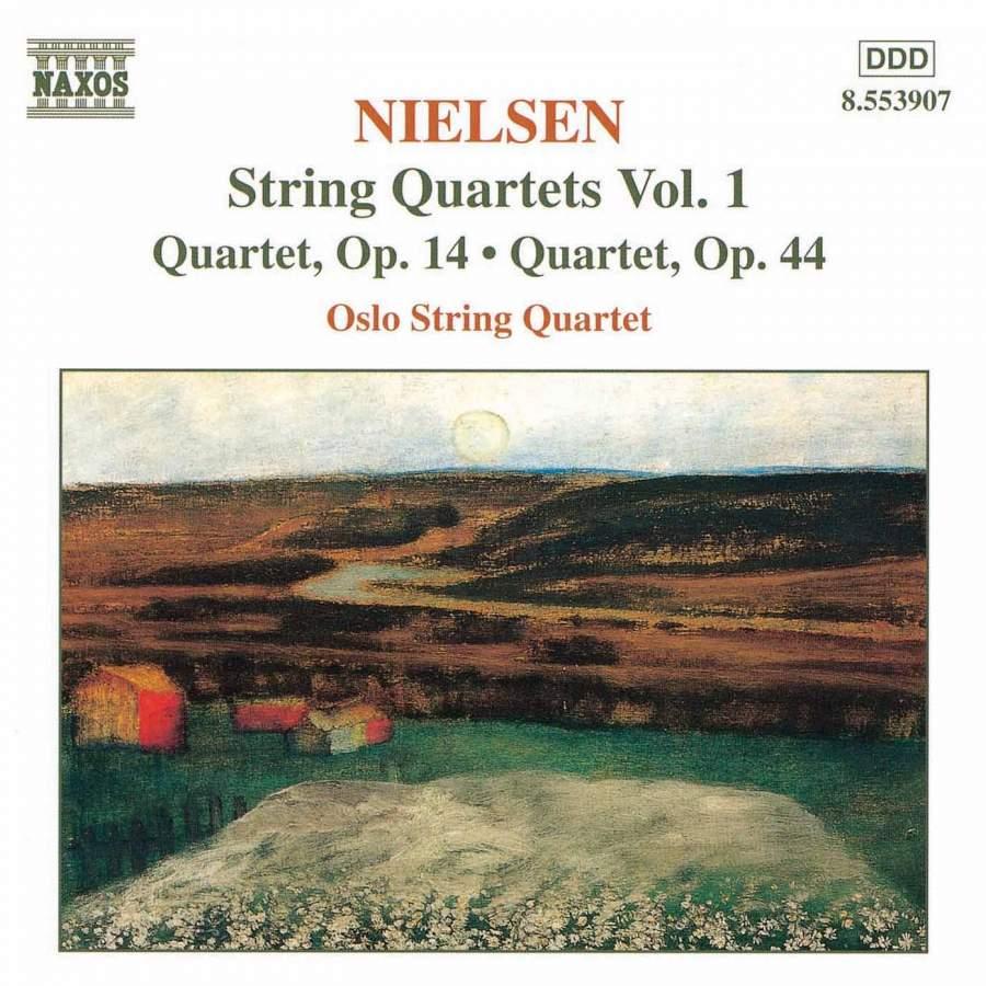 Carl Nielsen: String quartets VOL.1 - Oslo String QuartetRecorded in Ris Church in Oslo April 1997 by Morten LindbergProducer: Krzysztof DrabBuy from iTunesNAXOS 8.553907