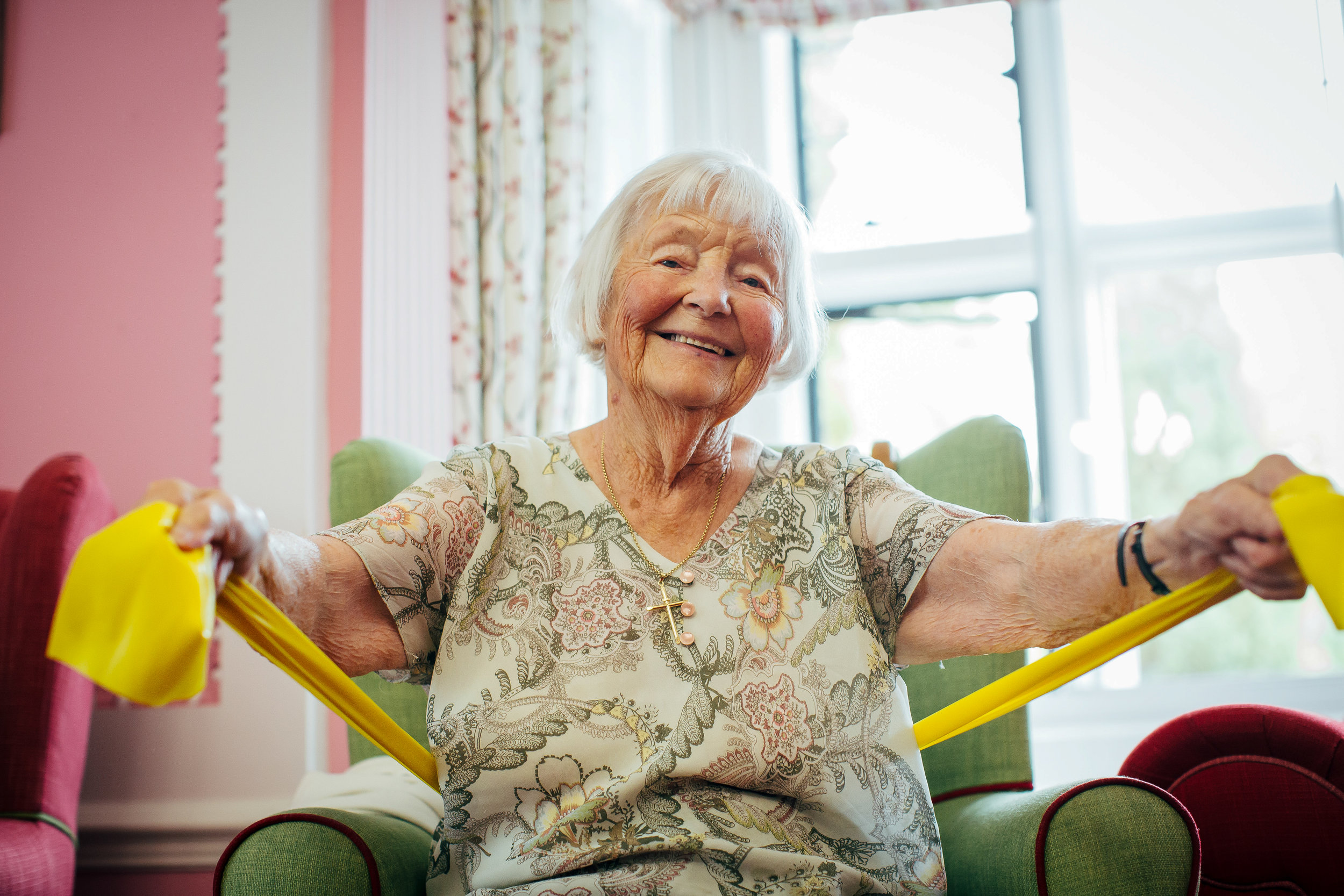 care home exercise
