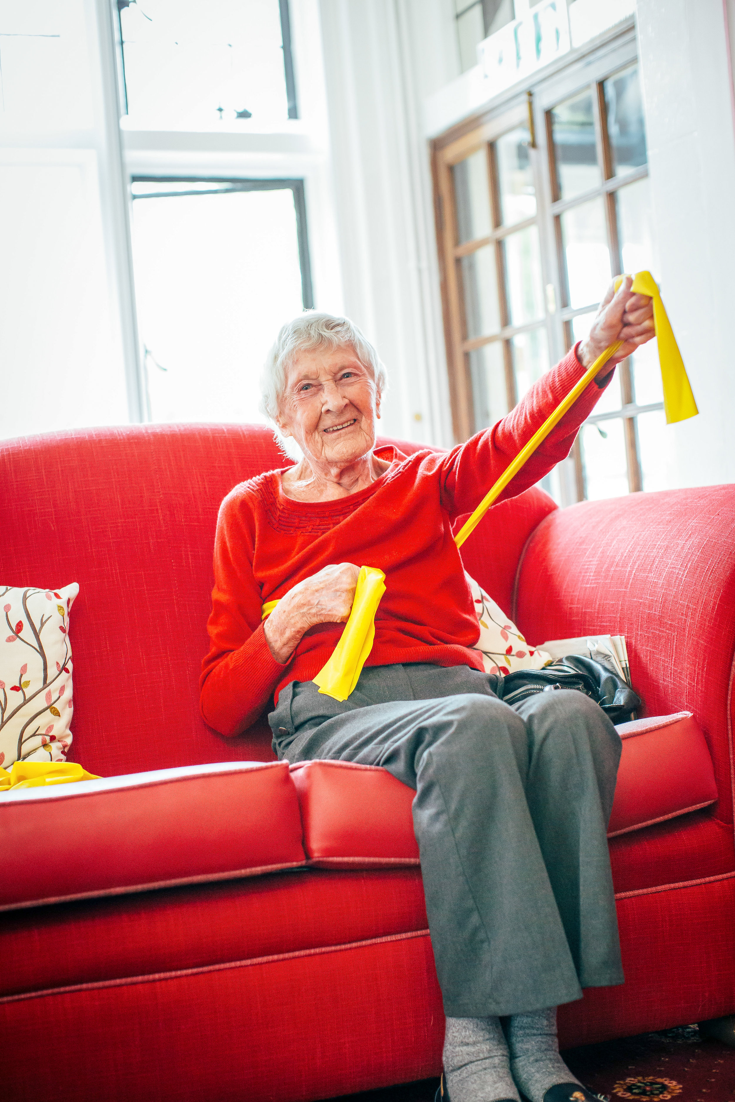 mobility, fitness, Fun for elderly
