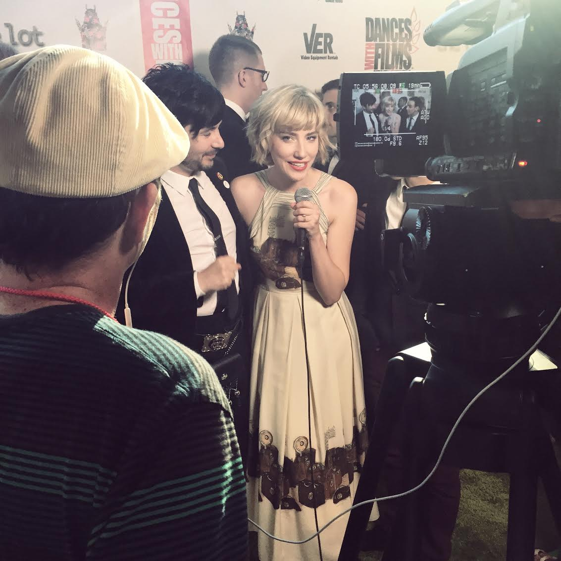 Jenni Melear and Stuart MacLeod at Funny Love's Dances with Films Premiere