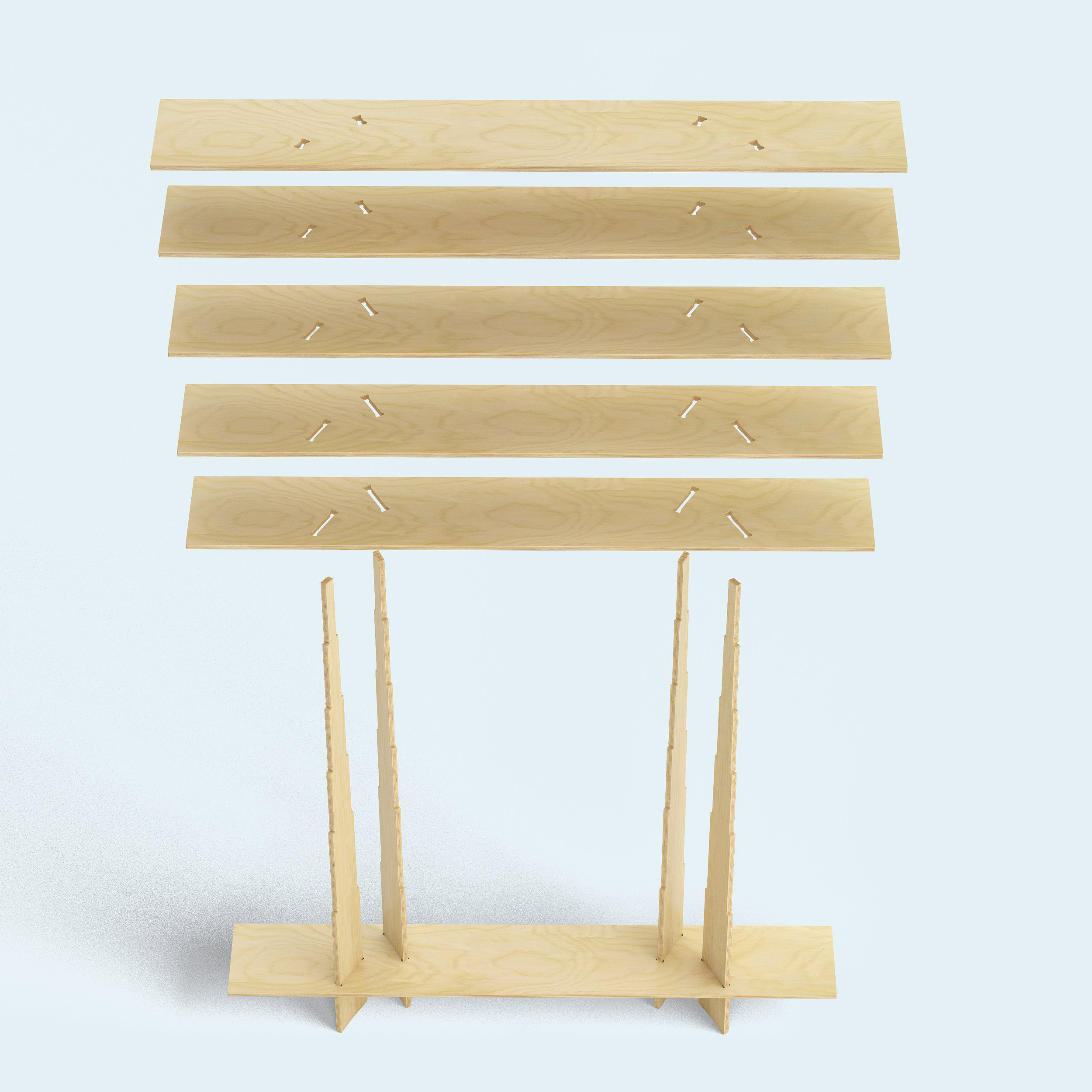Italic shelf_ Ronen Kadushin_FIT-furniture.com