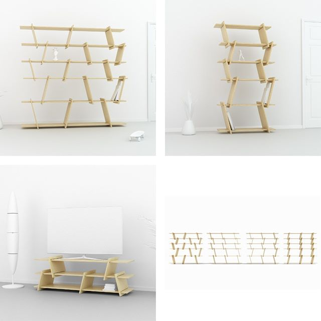 A minimalist piece with a sculptural presence. The flat pack, easy assembly, Italic family. Designed by Ronen Kadushin. fit-furniture.com  #fitfurniture #furniture #design #interiordesign #DIY #furnituredesign #opendesign #berlin #contemporaryfurniture #shelf #plywood #cnc #ronenkadushin A minimalist piece with a sculptural presence. The flat pack, easy assembly, Italic family. Designed by Ronen Kadushin fit-furniture.com  #simple #flatpack  #contemporarydesign #onlineshop #minimalist #sculptoral #minimalistfurniture #minimalism