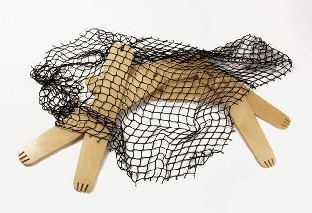 Wildlife Chair- parts before assembly Hunted and caught wild animal, on its back, paws tangled in the net, helpless and ready to be seated. Design- Ronen Kadushin 2015  #fitfurniture #furniture #design #interiordesign #DIY #furnituredesign #opendesign #berlin #contemporaryfurniture #shelf #plywood #cnc #ronenkadushin #simple #flatpack #contemporarydesign #onlineshop #minimalist #sculptoral #minimalistfurniture #minimalism #chair #wildlife #nature #stuhl #ikea #extinct #extinctionrebelion #climateemergency
