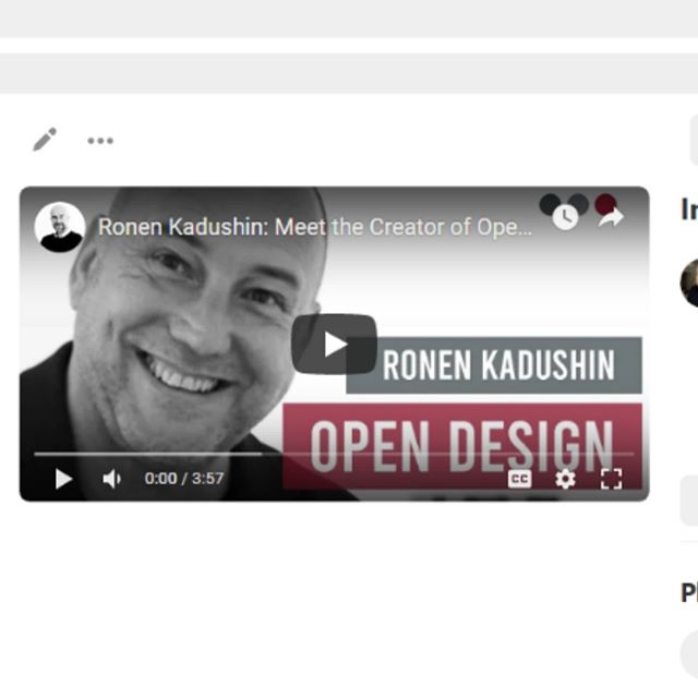 Thanks so much and dos Santos for this excellent video interview! It is always a great pleasure to create with you and the awesome creative collective you gathered. And a special thanks to Kyle Reed for creating the interview and video.  https://www.youtube.com/watch?v=1OibUb6oQyE  #ronenkadushin #opendesign #furnituredesign #fitfurniture #design #creativity #marketingstrategy #creative