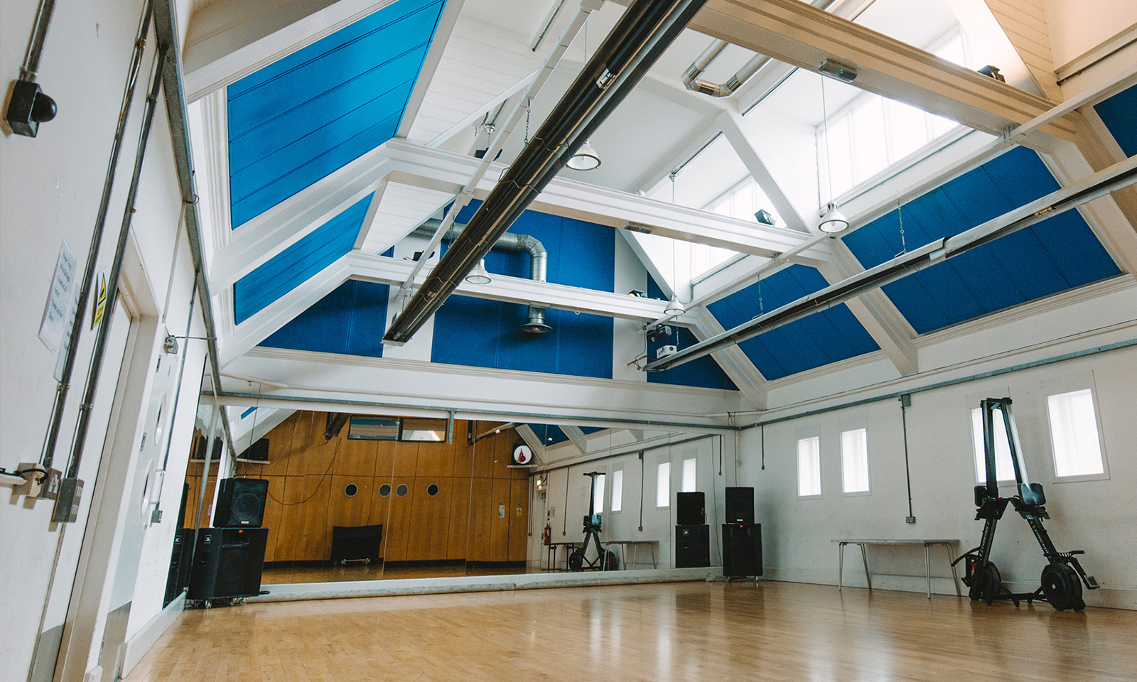 The Studio - With sprung floors, this room is especially great for dance and fitness classes. However, with a little decoration it also provides an elegant space for parties.