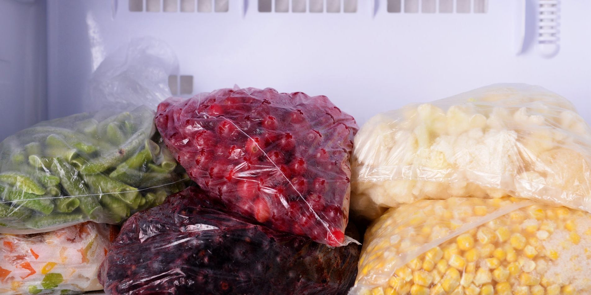 FREEZE - Increased freezer use can save you up to £270 per year on your food bills. Who would have thawed?