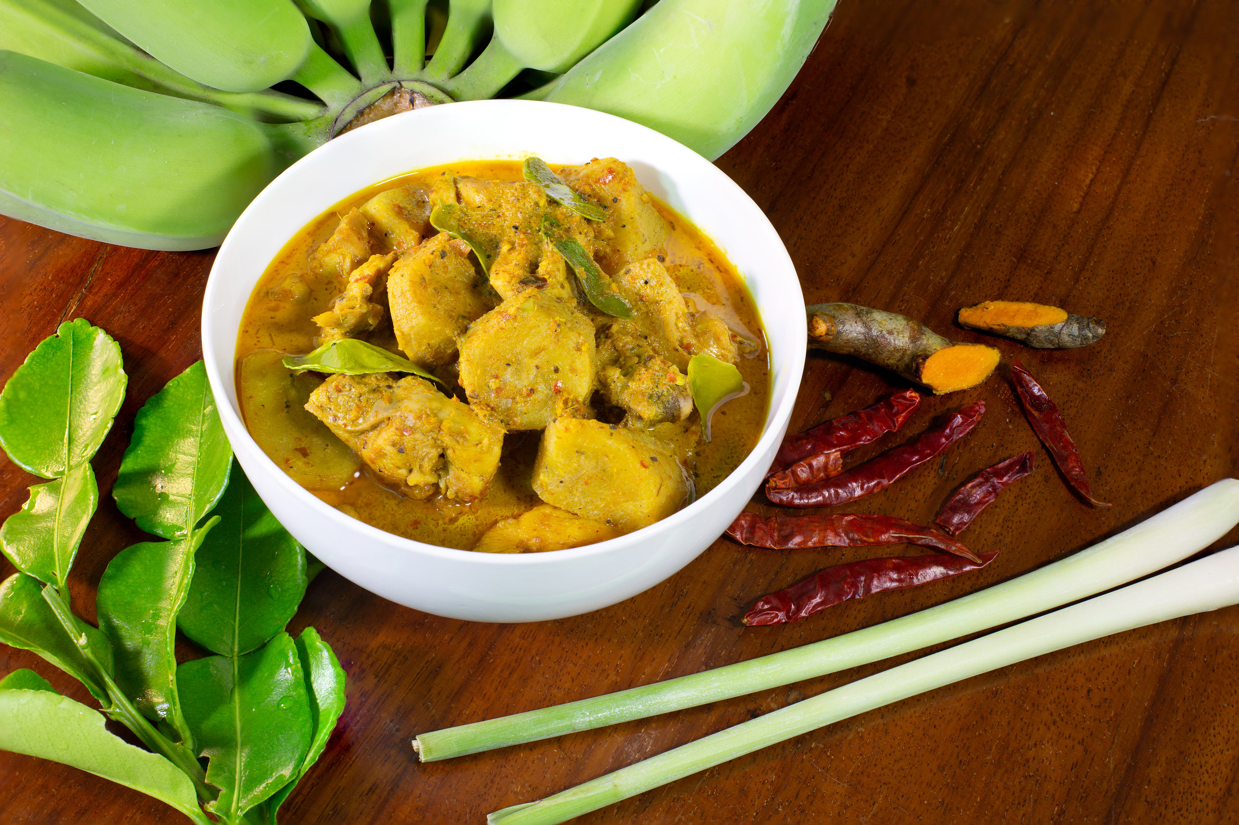 Banana curry