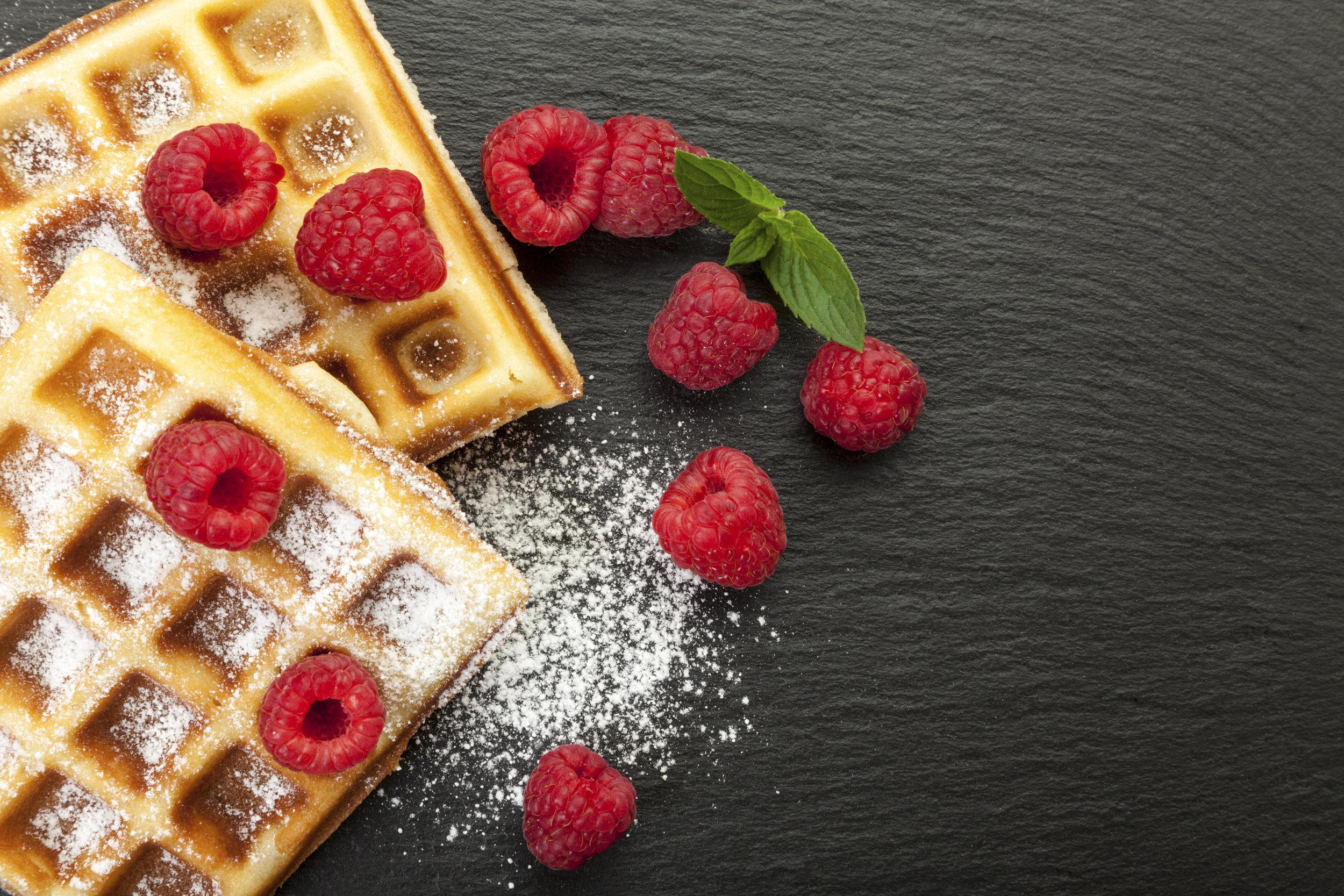 Norwegian waffles (vafler)