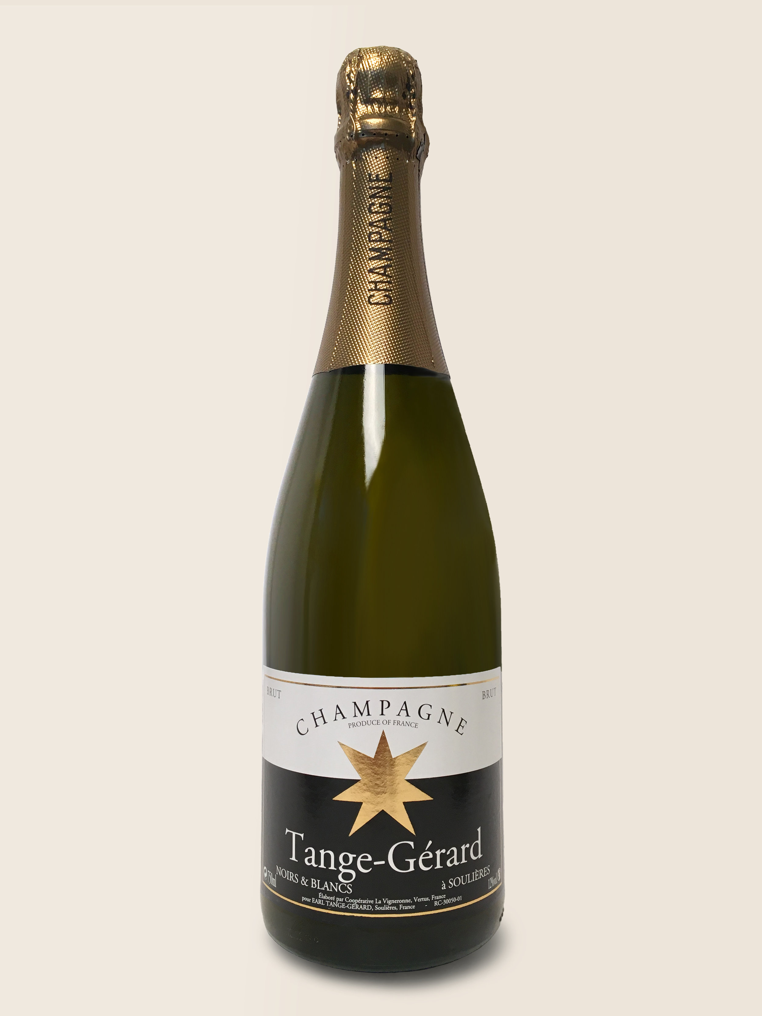 Noirs & Blancs - The Noirs & Blancs is a great all-round champagne on its own, with finger food of different kinds, charcuterie or a well matured Brie de Meaux.