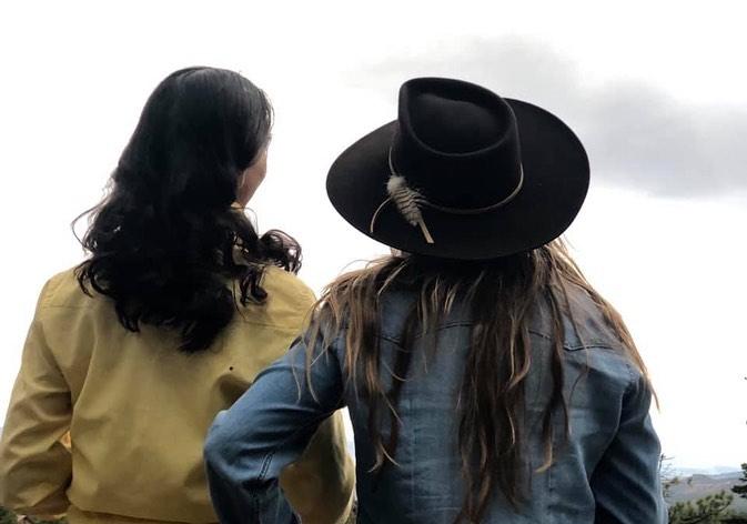 Amy and Adelma at the Mesa, July 2019.