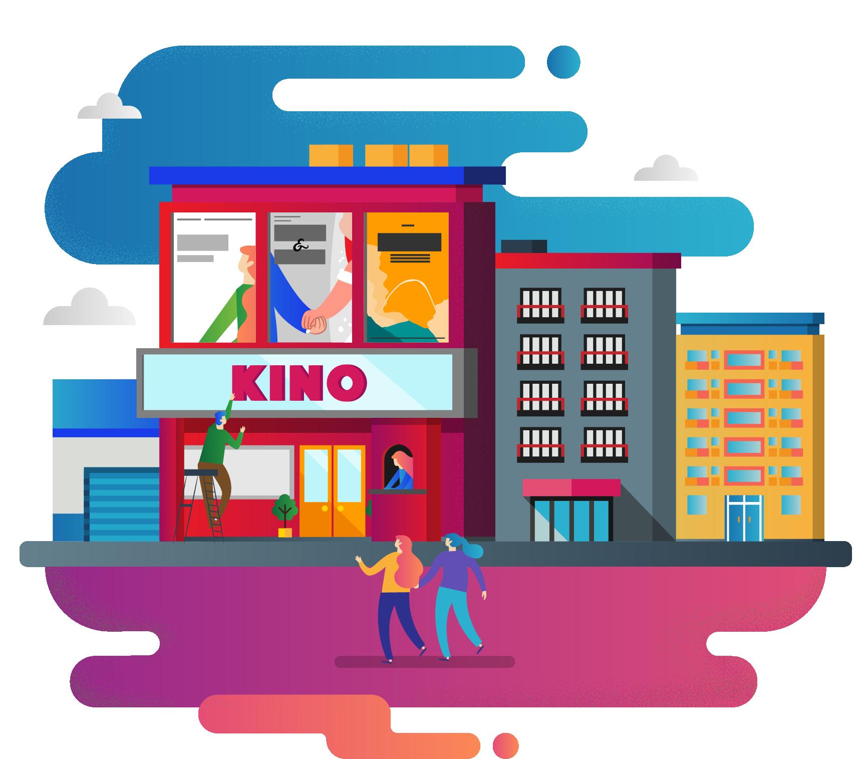 Et moderne verktøy for effektiv kinodrift - DX er en tilpasset løsning for kinoer som inkluderer billettsalg på nett, kassesystem, planleggingsverktøy og mye mer.