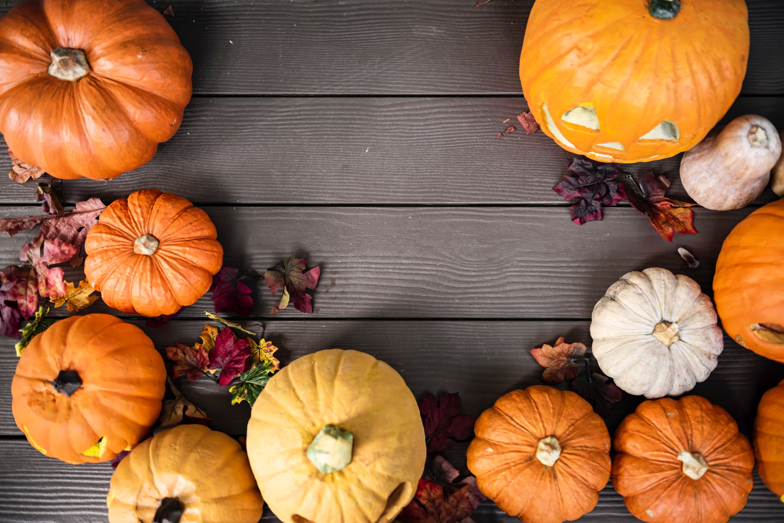 Pumpkins - Photo by rawpixel on Unsplash