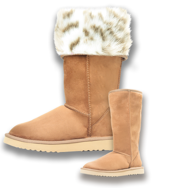PAWJ - If you are looking for an animal-friendly Ugg alternative, then look no further than Pawj Vegan Ugg-style boots. PAWJ products are made with high quality synthetic suede and faux fur which makes them 100% vegan. The boots are offered in five different suede colours and many fur patterns. They are stain and water resistant.PAWJ California is a family run business that is taking a stand to create a better world. It is their belief that all sentient creatures have the right to life. Their goal is to be the leading developer of environmentally friendly and 100% cruelty free alternative products that enable both their customers and their company to make a difference!