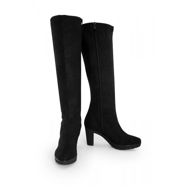 Noah - The Norma Knee High boot by NOAH is a sexy and seductive boot which is lightweight, stretchy, and supple. The upper material is made from top-quality microsuede and is breathable, soft-to-touch, long-lasting, waterproof and easy to clean. The combination of high heel and platform make this a surprisingly comfortable day to night boot. The heel is slightly padded and made from a smooth micronappa.NOAH offers fashionable, high-quality vegan footwear produced in limited numbers in Italy by small companies that guarantee fair working conditions. Noah's philosophy is to create exclusive Italian handcrafted footwear combining quality and style while respecting the environment, the animals and the human health. NOAH also offers style accessories - bags, belts, hats & caps - with the same high standards of aesthetic quality and environmental sustainability.