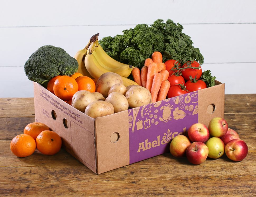 Abel and Cole - PRICE RANGE - £11.50 to £27.50DELIVERY - most of England - £1.25PACKAGING- delivered in cardboard boxes which are then picked up and reused. Extra packaging is only used when absolutely necessary, to protect the fruit & veg while on its way to you or to keep it fresh. Most of their packaging can be recycled or re-used and they are actively looking for alternatives to plastic in an attempt to further lessen their environmental footprint.ALSO - All produce is organic and if you want to ensure that your produce only comes from the UK , Abel and Cole offer an All British Veg box. They only deliver to each area once a week keeping carbon emissions to a minimum, and are also planning to switching a proportion of their fleet to electric vans by 2020 with the intention of delivering zero tailpipe emissions by 2028. Abel and Cole is a certified B Corporation