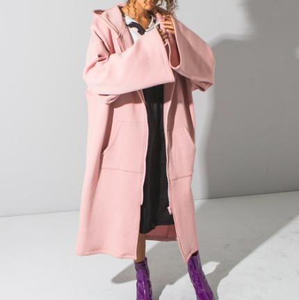 Copy of Pink supersized Hoodie