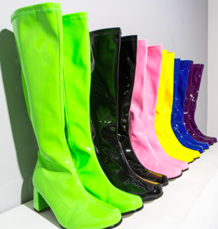Copy of Patent knee high boots