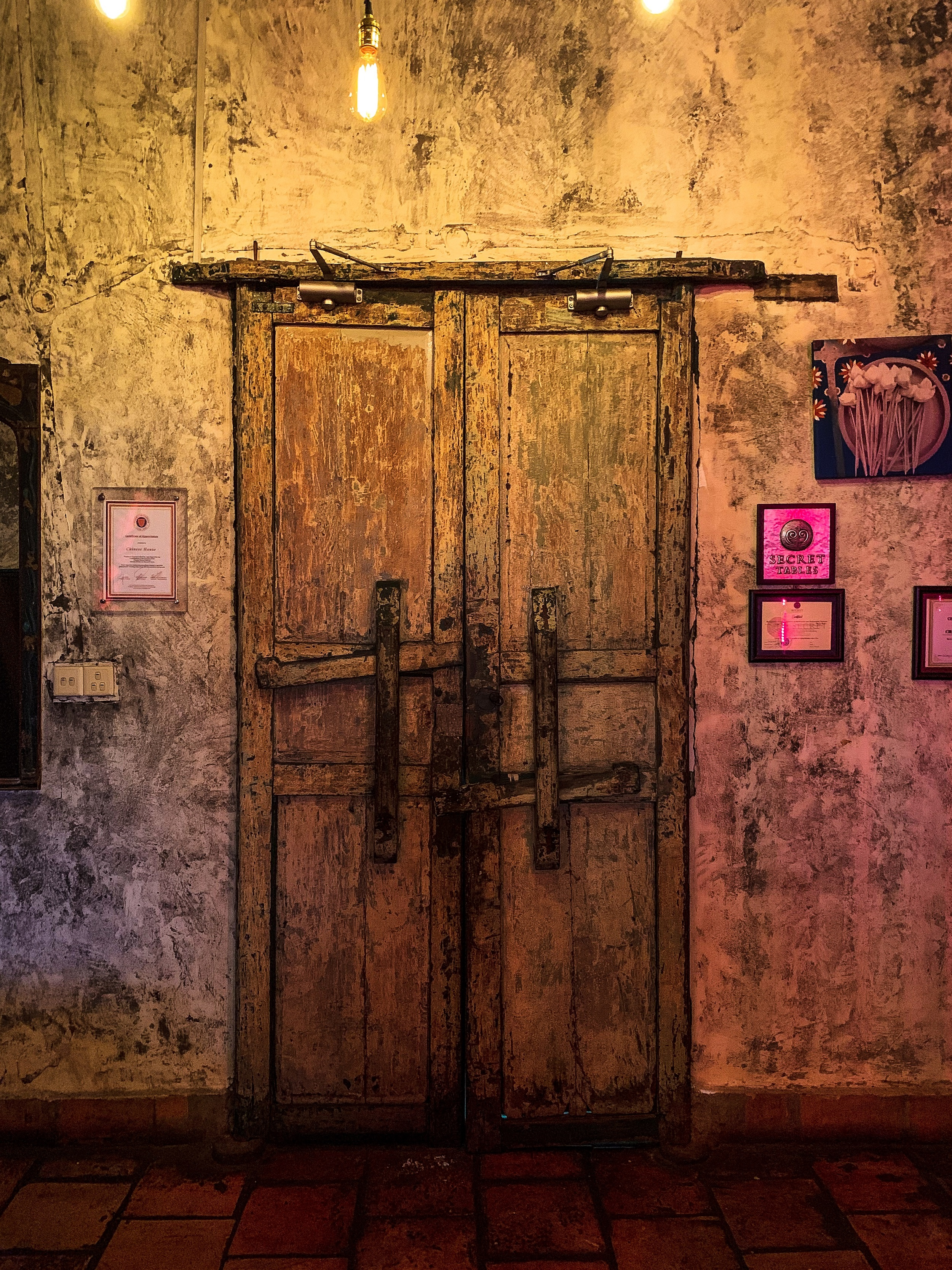 Image of historic doorway