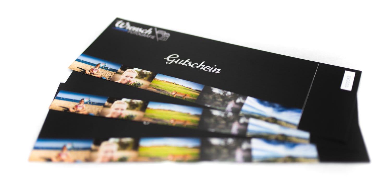 Unsere Gutscheine für Fotoshootings.