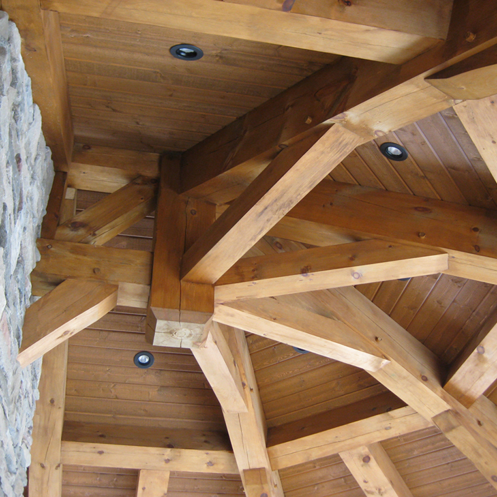 Timber Frame Interiors -