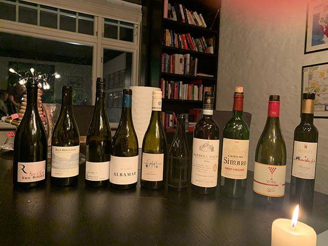 #Blindsmaking - hvilke av disse vinene hadde du tatt? 🍾💥💪